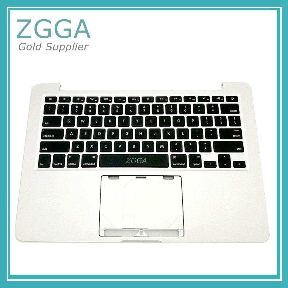 Натуральная 13 Ноутбук США клавиатура Упор для рук верхней крышкой для MacBook Pro Retina 13 A1425 верхний регистр В виде ракушки MD212 MD213 2012 год 613 0535 a