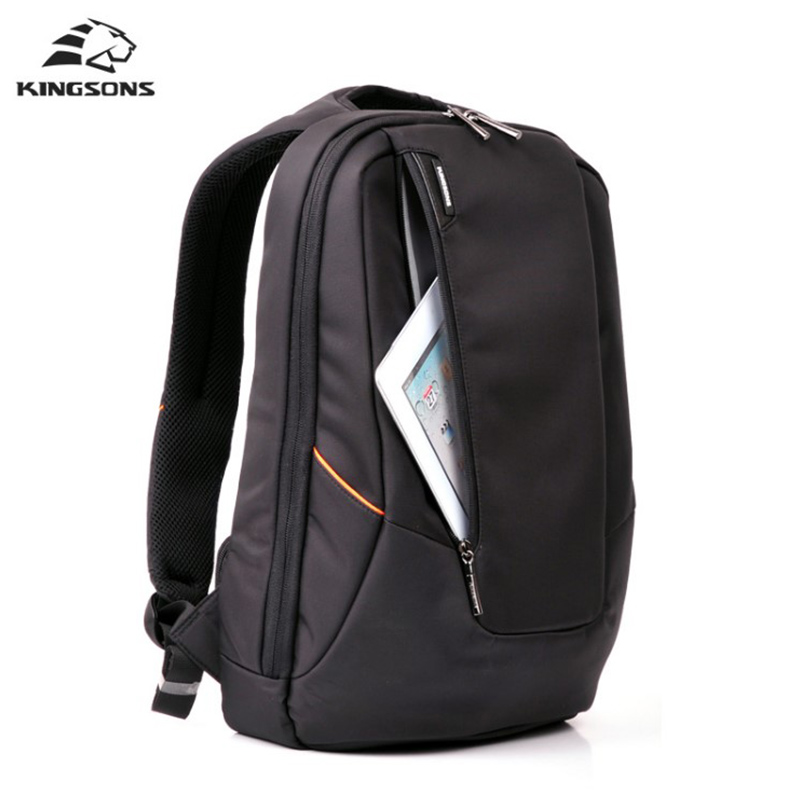 Kingsons 15.6 inch Laptop Backpack Bag Men Feminine Backpacks Waterproof Computer Notebook Backpack Travel School Bags brand shockproof laptop backpack nylon waterproof men women computer notebook bag 15 6 inch school bags backpack ks3027w