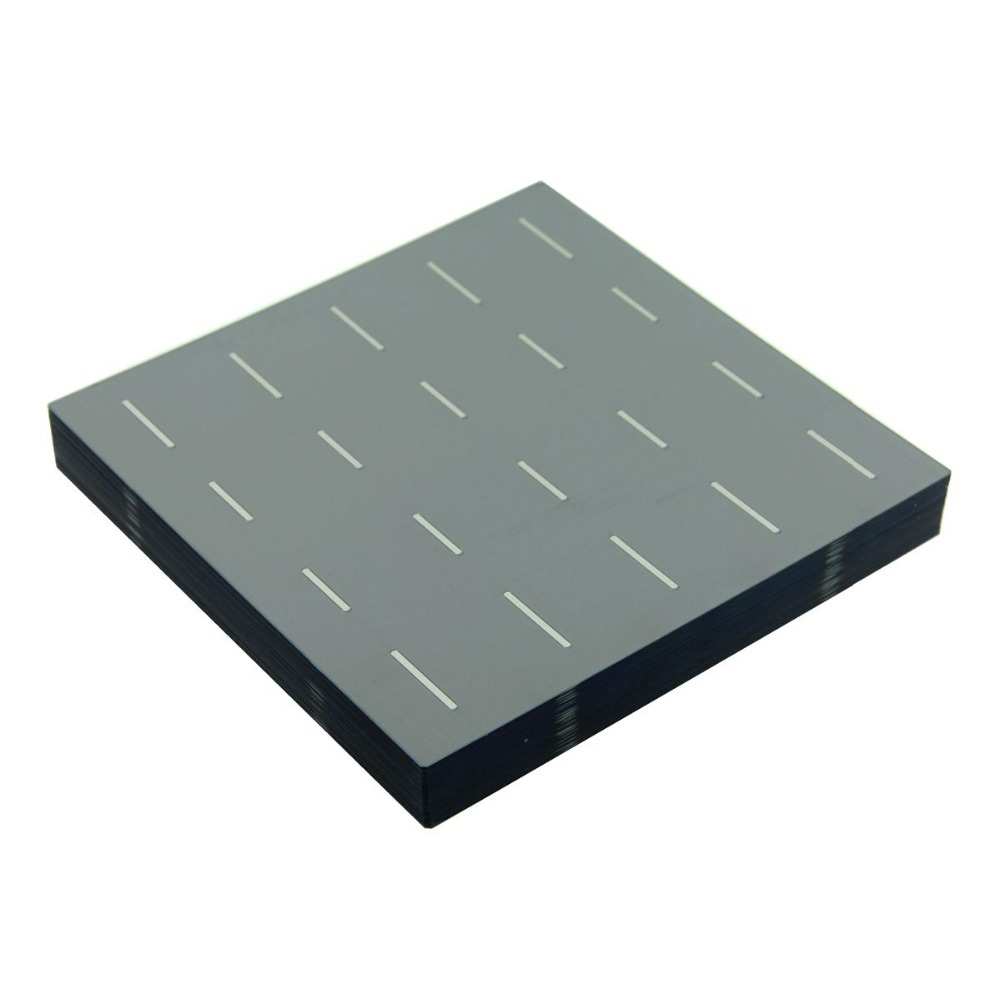 100 Pcs 4.5W 156MM Photovoltaic Polycrystalline Solar Cells 6x6 For DIY Solar Panel System