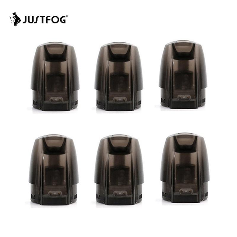 6 unids/lote Original JUSTFOG Minifit Pod 3 unidades de JUSTFOG minifit Kit de cigarrillo electrónico accesorio