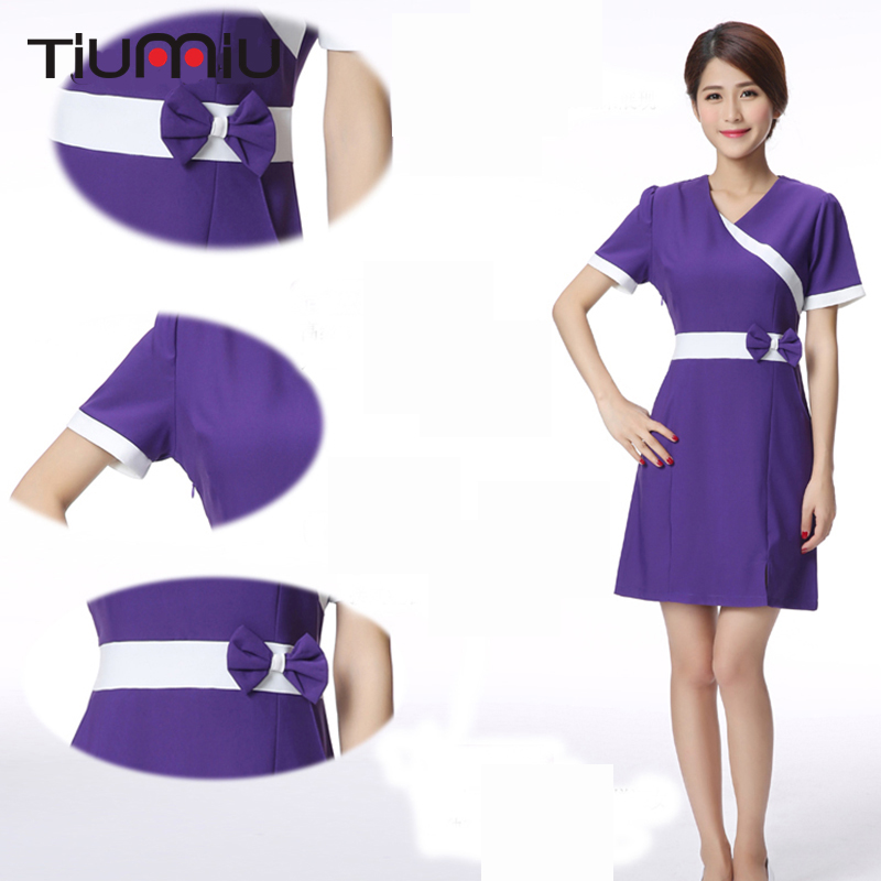 Lab Coats Back To Search Resultsnovelty & Special Use 2018 Hospital Doctor Nurse Uniform Women Female Short Sleeves Medical Uniform Attire Beauty Salon Spa Fashion Work Wear Uniforms