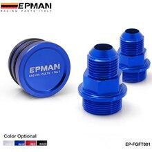 Высокое качество EPMAN задний блок Сапун фитинги и разъем для HONDA ACURA B16 B18 M28 до 10AN EP-FGFT001