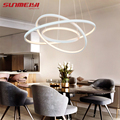 Современный светодиодный подвесной светильник, простой подвесной светильник для гостиной, кристальный блеск, подвесные светильники, подве...