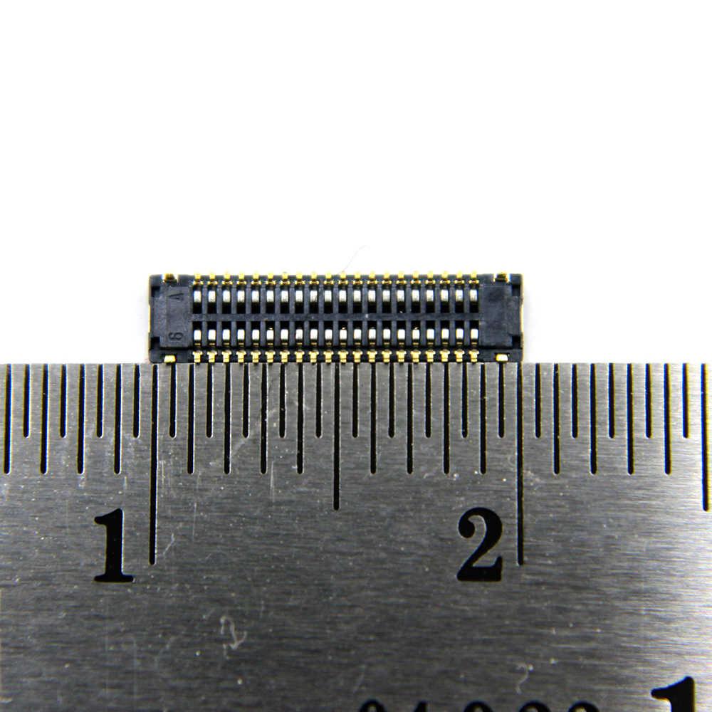 2 قطعة/الوحدة لسامسونج غالاكسي J7 برو 2017 J730G J730F J730FN J730F/DS J730N و Duos شاشة الكريستال السائل شاشة FPC موصل 40pin 40 دبابيس