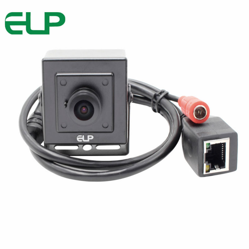 180 degree fisheye lens wide angle 2MP full HD cctv video POE ip webcam camera 1080p ELP IP1882 L180 POE-in Surveillance Cameras from Security & Protection    3