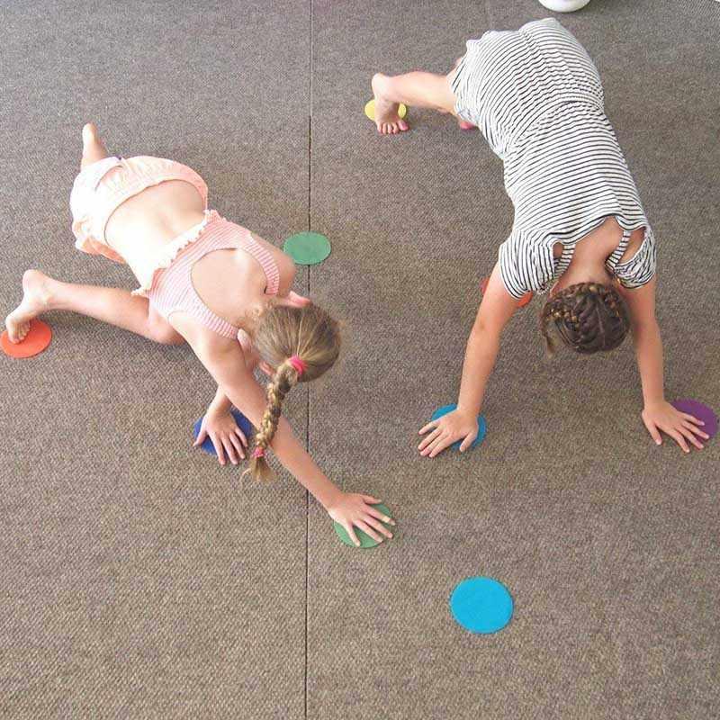 30 шт./компл. круглые маркеры для ковров для учеников раннего образования детского сада поставка Лидер продаж