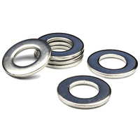 Stainless Steel Form A Flat Washers To Fit Metric Bolts Screws M16 17mm 30mm 3mm 50pcs