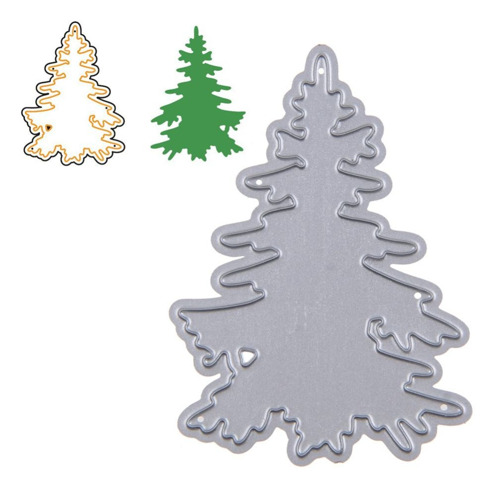 1 Piece Christmas Tree Cutting Dies For Diy Scrapbooking