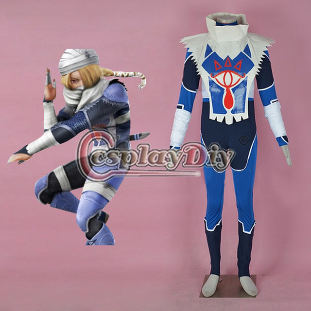 Cosplaydiy Sheik Cosplay Costume (2nd) From The Legend of Zelda Adult Halloween Outfit Custom Made D0901