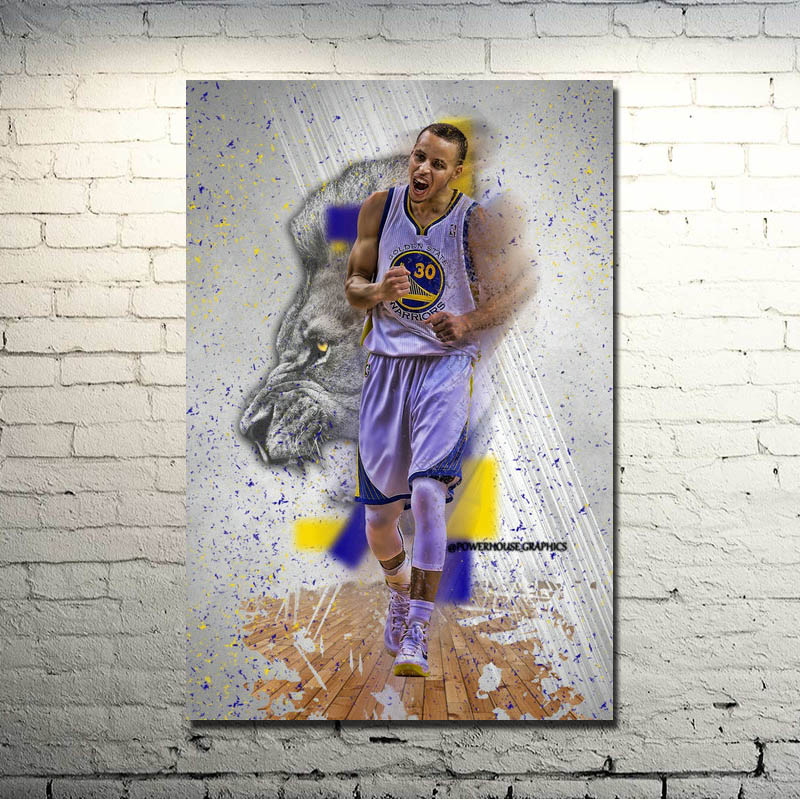 Stephen Curry Art Silk Fabric Poster   Print 13x20 24x36inch Super Basketball Star Pictures for Home Wall Decor 020