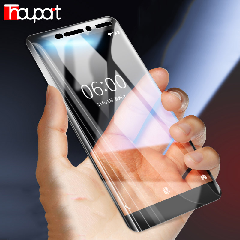 Thouport Tempered Glass For Nokia <font><b>5</b></font> 8 <font><b>2</b></font> 3 <font><b>6</b></font> 2018 Nokia 7 Plus Screen Protector For Nokia <font><b>6</b></font> Glass Nokia 7.<font><b>2</b></font> Full Cover Film <font><b>6</b></font>.1 image