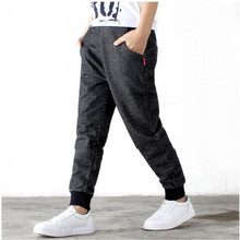AJLONGER Kids Pants Baby Boys Casual Pants Kids Clothing Cotton Boys Long Trousers Baby Boys Clothing Sport Pants Spring недорого