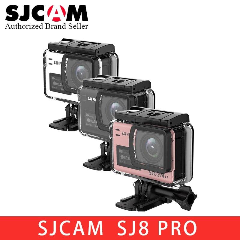 En stock NOUVEAU SJCAM SJ8 Série SJ8 Air & SJ8 Plus & SJ8 Pro 1290 P 4 K caméra d'action WIFI télécommandable imperméable à l'eau sport DV