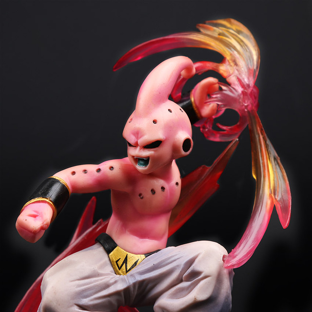 Majin Buu Goku Gotenks PVC Action Figures Tamashii Nations Figurine Super Saiyan Collection Model Dragon Ball
