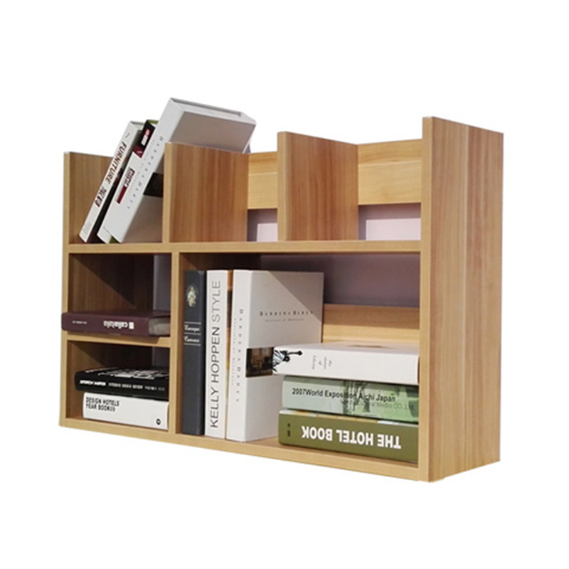 Desktop Office Bookcase Computer Desk Small Bookshelf Student Easy
