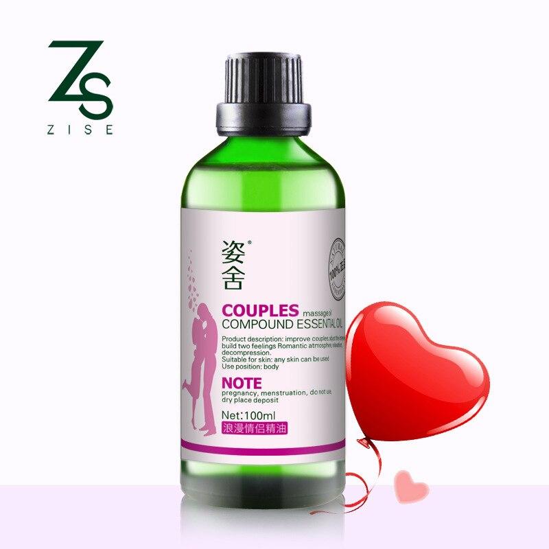 Cosmétiques 1 bouteille romantique couple 100 ml massage composé essence huile Push huile partout émotionnel grattage huile essentielle
