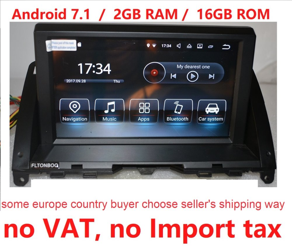 """8"""" Android 7.1 Car GPS Navigation For Mercedes C Class"""