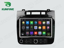 Quad Core 1024*600 Android 5.1 Car DVD GPS Navigation Player for VW Touareg 2010 Radio Bluetooth 3G/Wifi steering wheel control