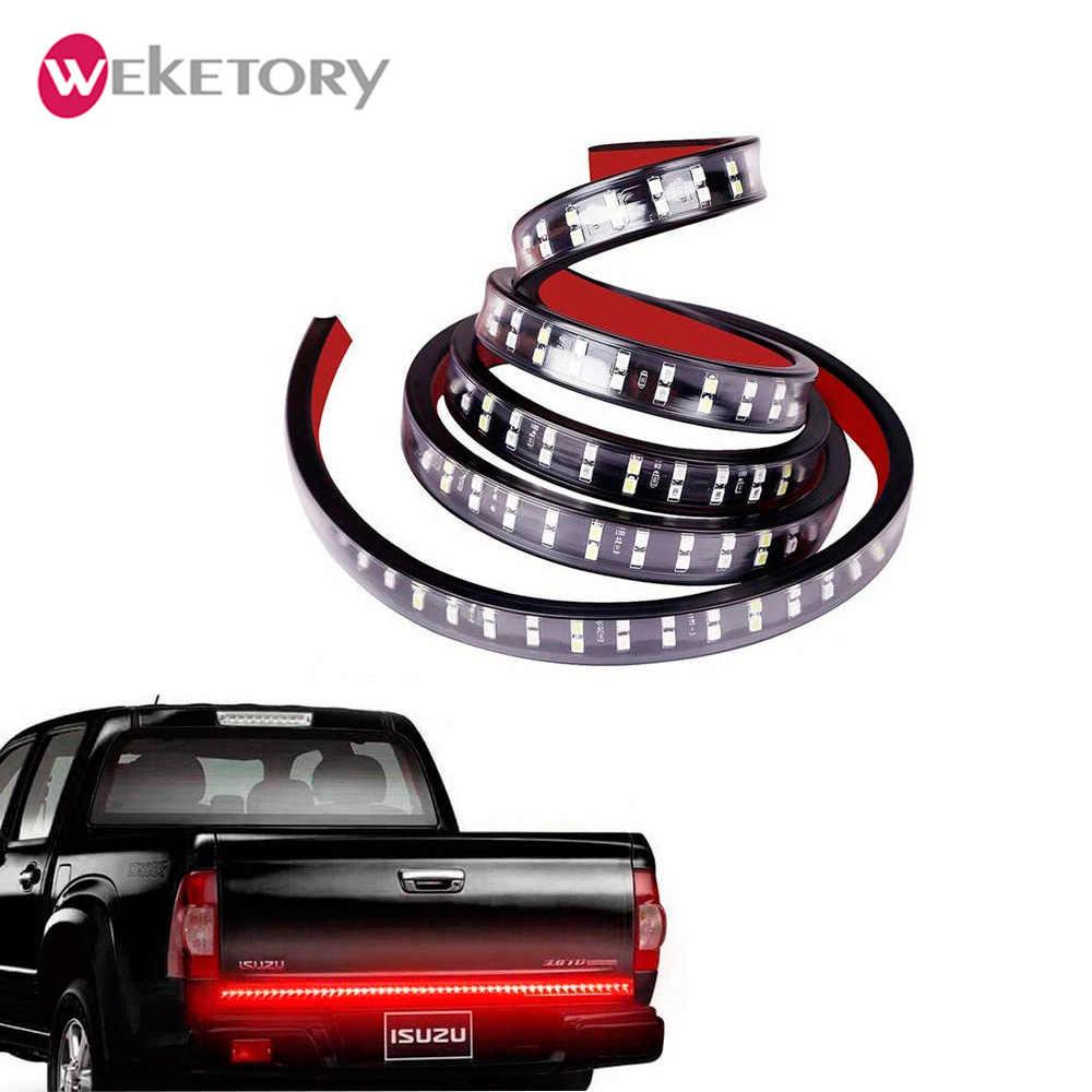 """60 """"светодиодный задний светильник двухрядный с реверсом, водонепроницаемый красный/белый светодиодный светильник багажника 5 функций ходовой сигнал поворота"""