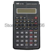 2016 Limited Calculator Scientific Deli 1704 Large Screen Multicolor With 56 Functions Automatic Shutdown Students Free Shipping