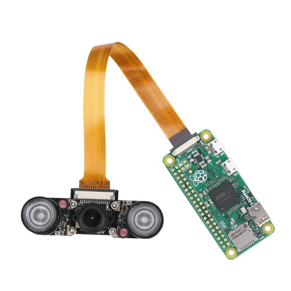 Camera Module Wide Angle Fish Eye Night Vision for Raspberry Pi Zero v1.3