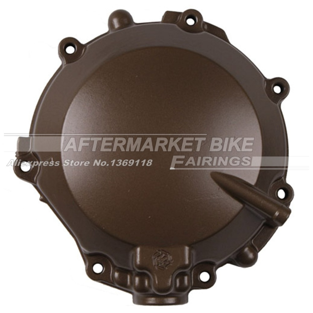 ФОТО Motorcycle LEFT Crankcase For Kawasaki ZX12R ZX -12R 2002 2003 2004 2005 2006 Engine Stator Crank Case Generator Cover
