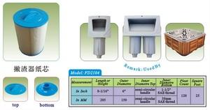 Image 5 - 4 pz/lotto hot tub spa filtro della piscina 205x150mm maniglia 38mm SAE filo filtro + spedizione gratuita
