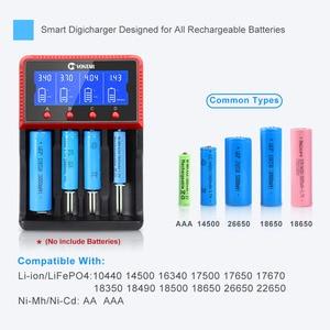 Image 5 - Smart Battery Charger 18650 Charging for Rechargeable Li ion Batteries 26650 18650 14500 16340 AA AAA  1.2V 3.7V 12V 24V