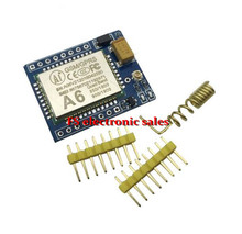 1 pcs mini A6 GPRS GSM Kit Wireless Extension Module Board Antenna Tested Worldwide Store for SIM800L