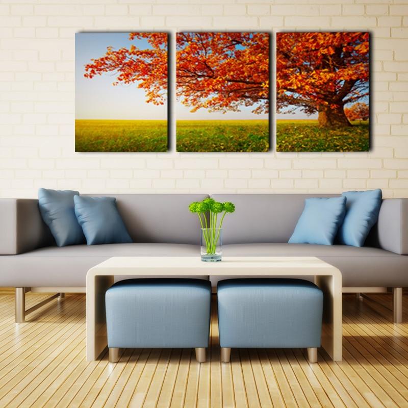 3 unidades decoración del hogar moderno lienzo pared arte cuadro ...