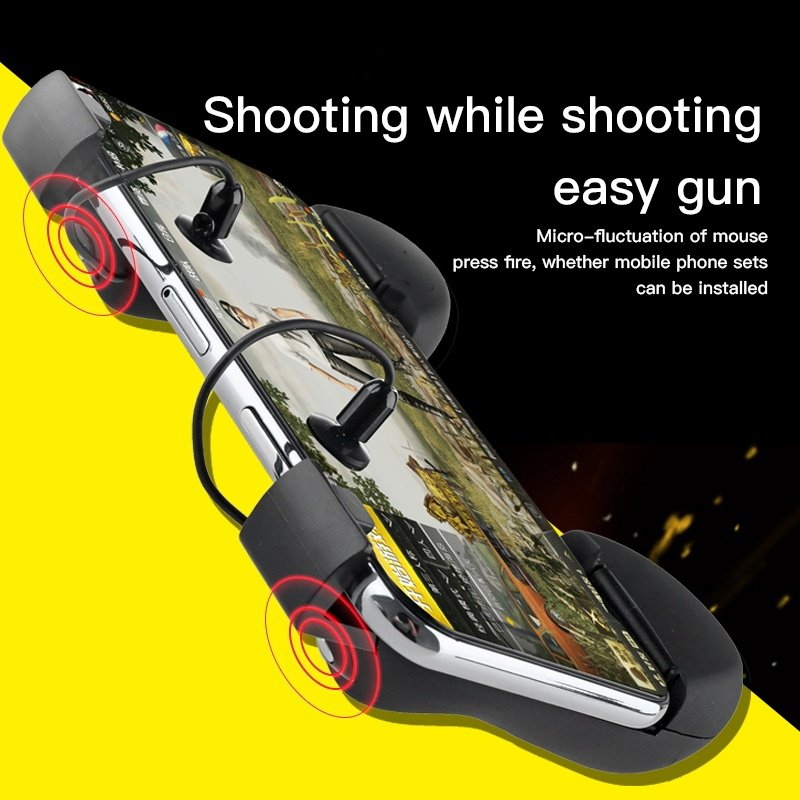 PUBG Mobile Game Trigger Shooting Controller Pubg Fire Button Handle PUBG Handle Controller