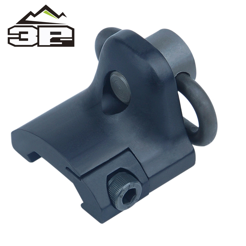 New Sling Swivel Mount GS Rail Mount Hand Stop Picatinny Rail Mount Base 20mm Connecting QD Sling Ring WEX249