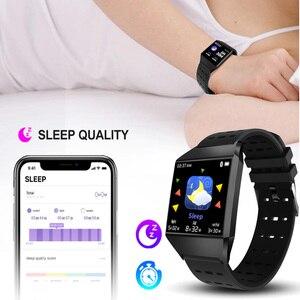 Image 4 - Wearpai W1C montre intelligente étanche moniteur de fréquence cardiaque tension artérielle FitnessTracker moniteur de sommeil Fitness montre pour IOS Android