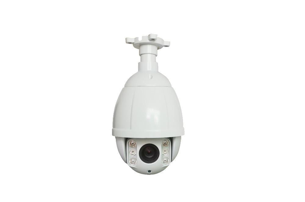1080P 2MP 10X optical zoom Mini weatherproof outdoor network onvif mini camera speed dome IP ptz camera dome with Ceiling amout