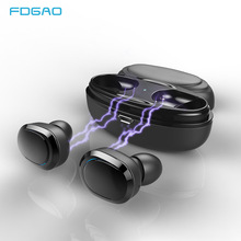 TWS Mini Wireless Bluetooth Earphones Waterproof Earphone Sports Stereo Earbuds Gaming Headset with Mic Charging Box for Phone a7 tws mini bluetooth earbuds sport stereo waterproof rechargeable box earphones wireless earbuds with mic headset for iphone