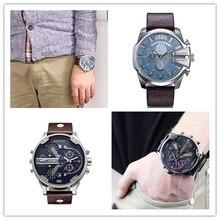 De luxe Hommes marque Hommes Montres montre Bracelet En Cuir Montre À Quartz reloj hombre Militaire Sport Homme Horloge relogio masculino