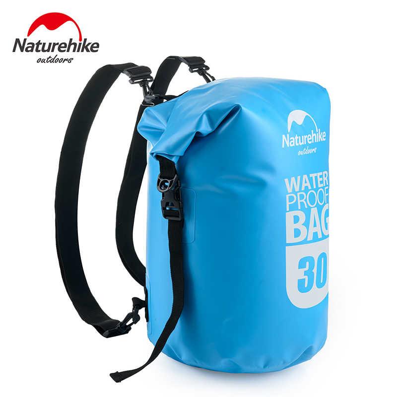 2c9b2b4b9b82 NatureHike Outdoor 20L/30L 500D Waterproof Backpack Bag Marine Dry Bags  Hiking Rafting Kayak Accessories Travel Duffel Packs