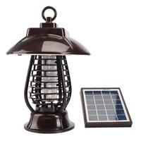 Motion Sensor LED Solar Panel Mosquito Killer Lawn Ground Light No Radiation Outdoor Home Mosquito Trap Pest Lamp