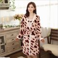 2016 New Fall/Winter Sexy Bathrobe For Women Robe/Gown Sets comfortable casual pajamas homewear Robe Long-sleeved sleepwear