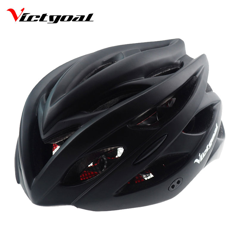 VICTGOAL Matte Black Bike Helmet Men Women Sun Visor ...