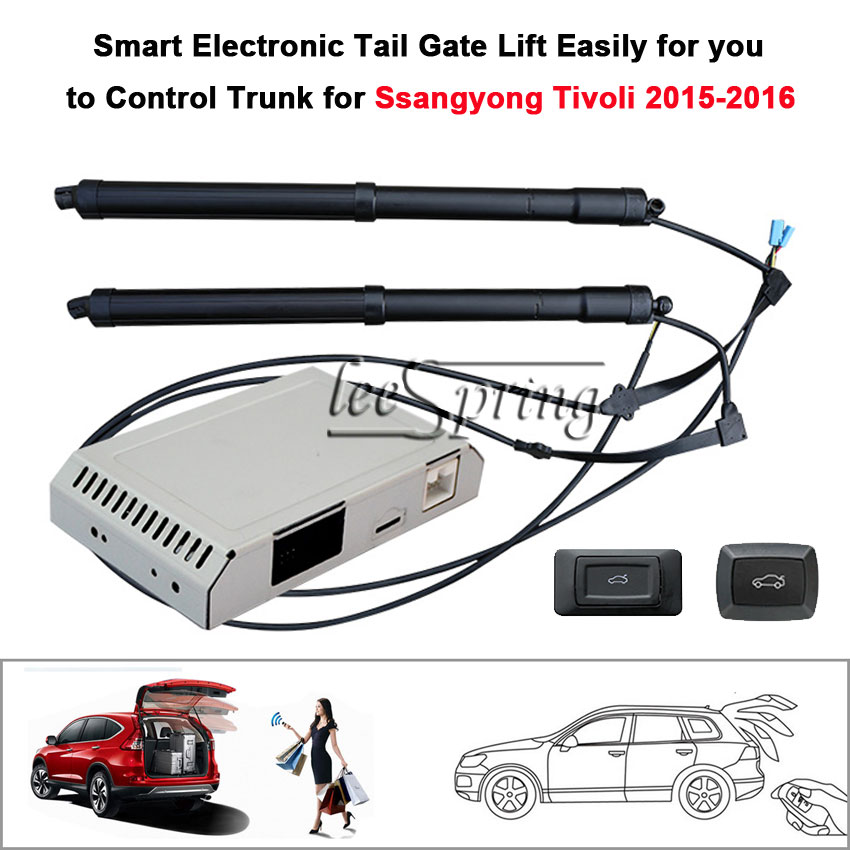 Car Electric Tail Gate Lift Special For Ssangyong Tivoli 2015-2016 With Latch Easily For You To Control Trunk