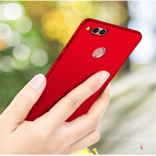 360 Full Protection PC Hard Cases For Huawei Honor 7X Back cover 7 X Matte coque fundas with Glass Film