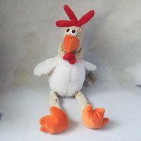 about 40cm white hen chicken plush toy soft doll birthday gift b2751