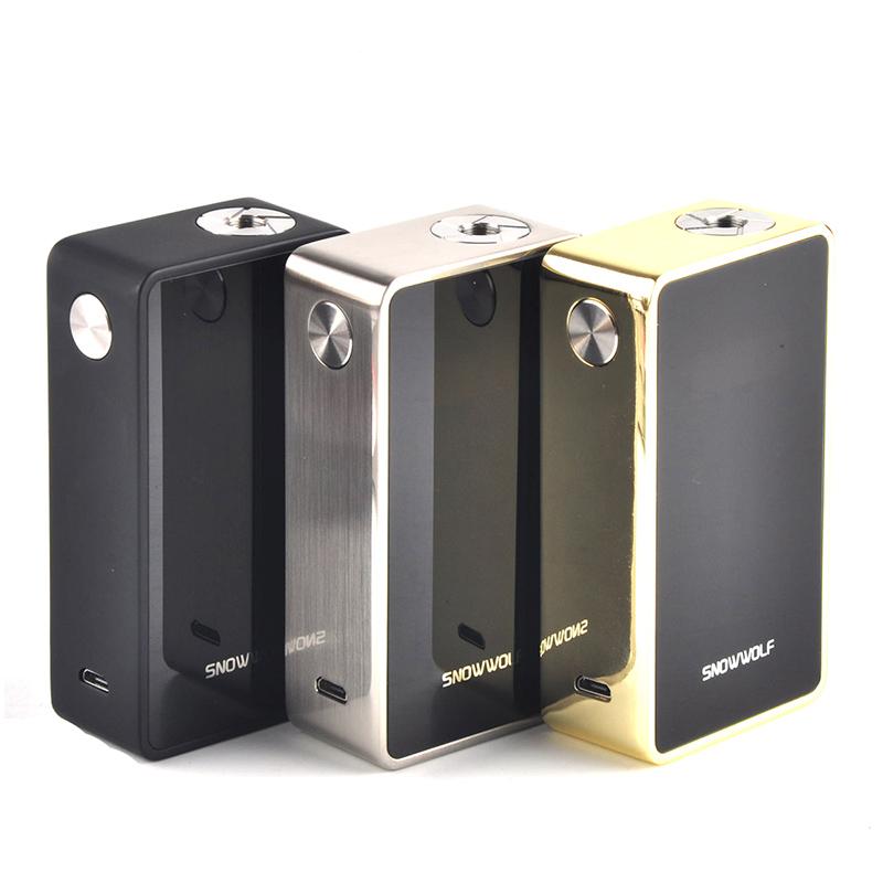 Prix pour Sigelei SnowWolf 200 W Plus TC Boîte Mod Max Puissance 235 W E Cigarette Vaper Mods Cigarette Électronique Vaporisateur Mod Kit