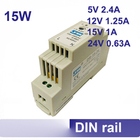 DR 15 12 15W Power Supply Universal AC Input DIN Rail Indutrial Switching Power Supply 12v