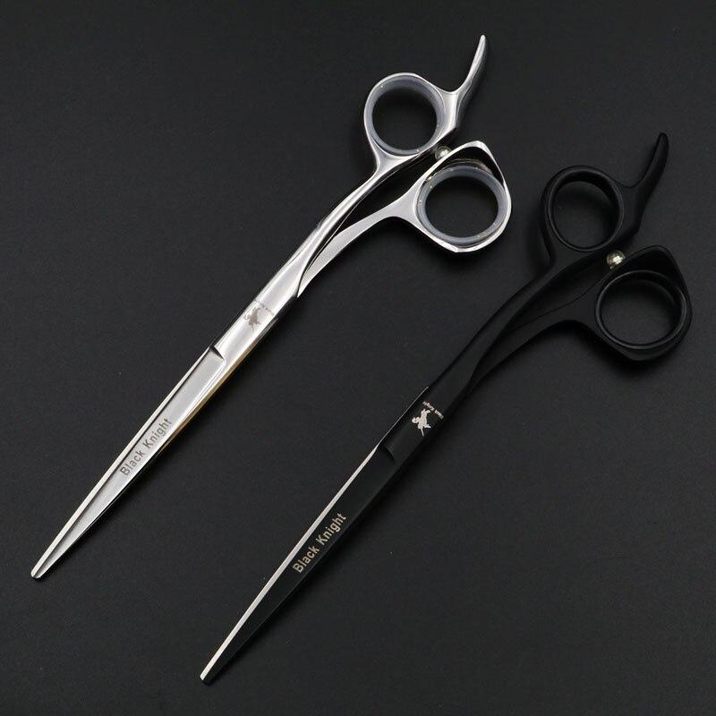 Tesoura de Cabeleireiro Conjunto de Tesouras Profissionais para Cabeleireiro com 5.5 6.5 de Salão de Beleza para Cortar Profissional Barbeiro Prata Preta – 6