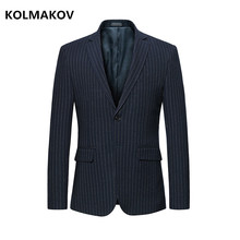 2 Colors Hight Quality Mens blazers Jacket New Arrivals 2018 3XL 4XL 5XL 6XL Masculino Two Buttons