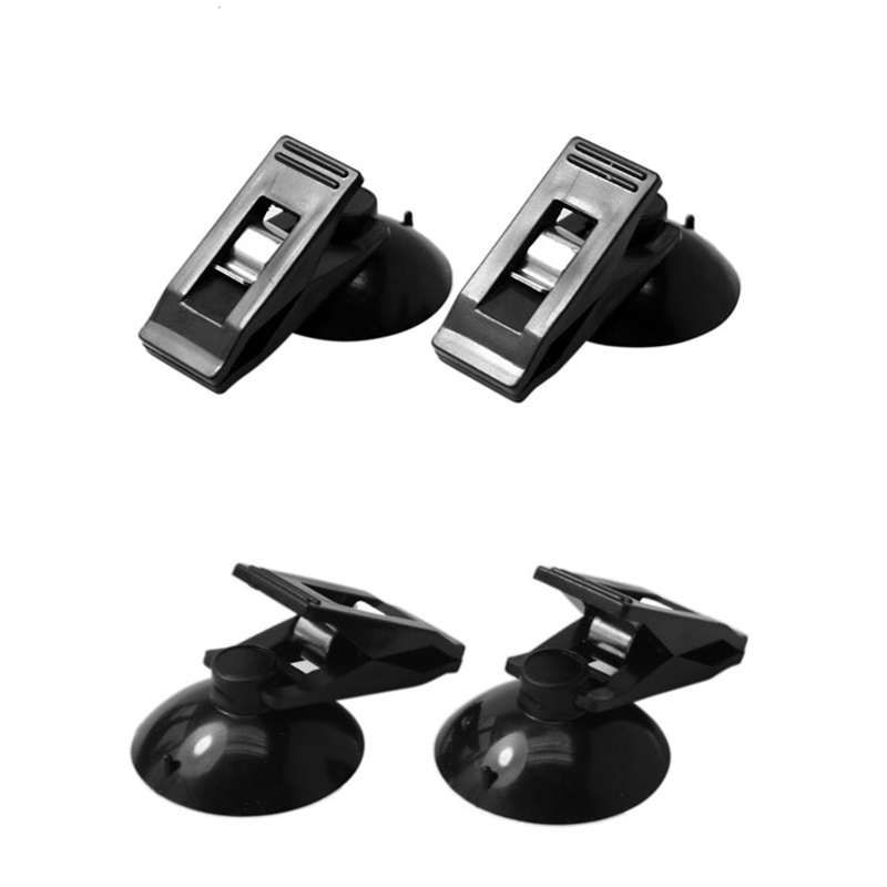 Image 4 - 1 Pair Car Interior Window Clip Mount Black Suction Cap Clip Plastic Sucker Removable Holder For Sunshade Curtain Towel Ticket-in Auto Fastener & Clip from Automobiles & Motorcycles