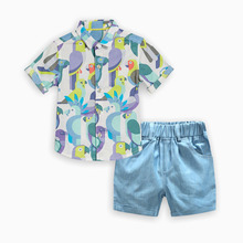baby boy summer clothes kids boys clothes set christmas outfits teenage clothing new fashion thanksgiving print cotton shorts цена и фото