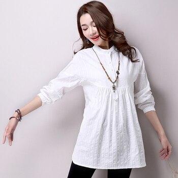 a5b35d00de30 2019 nueva primavera verano Blusa de maternidad blusas para mujeres  embarazadas camisetas de maternidad Tops blancos